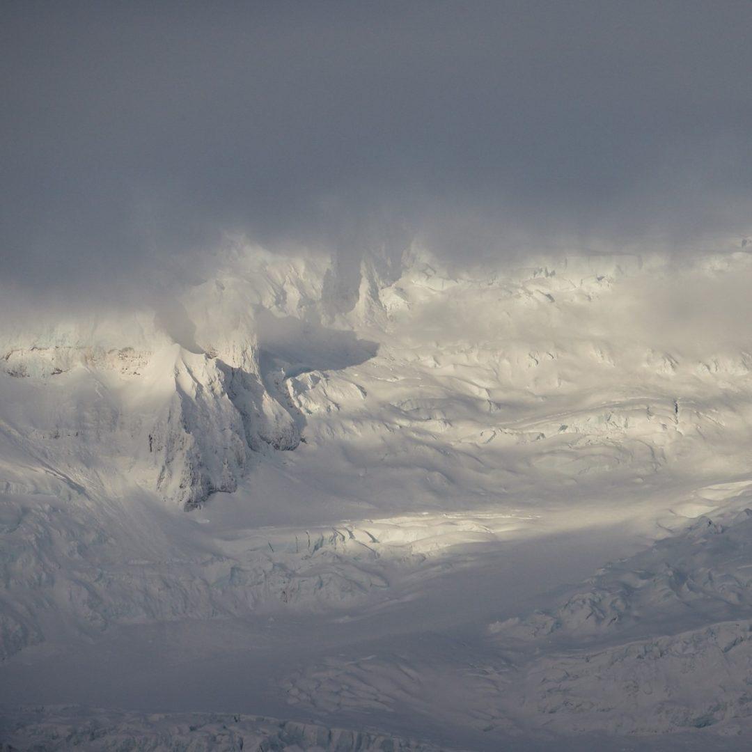 Eyjafjallajökull - iceland glacier