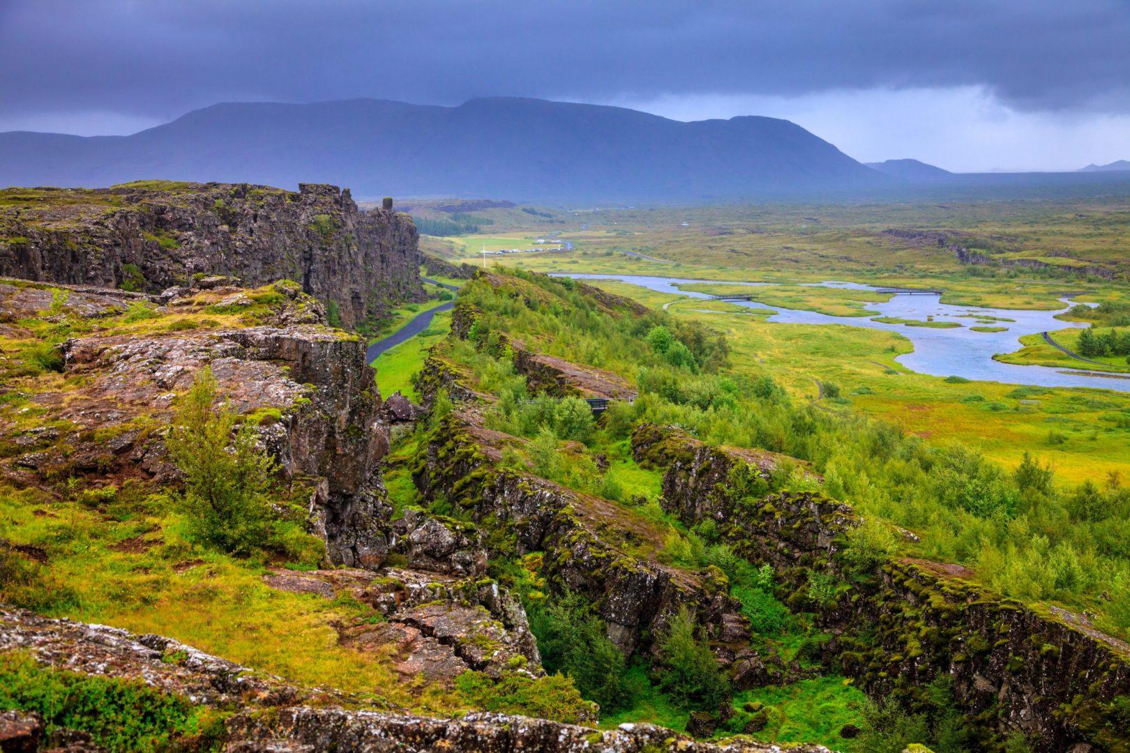 Iceland most popular tour Golden Circle - Thingvellir National Park