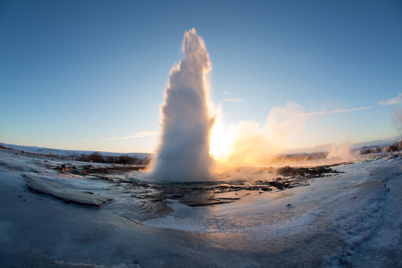 Iceland most popular tour Golden Circle - Geysir
