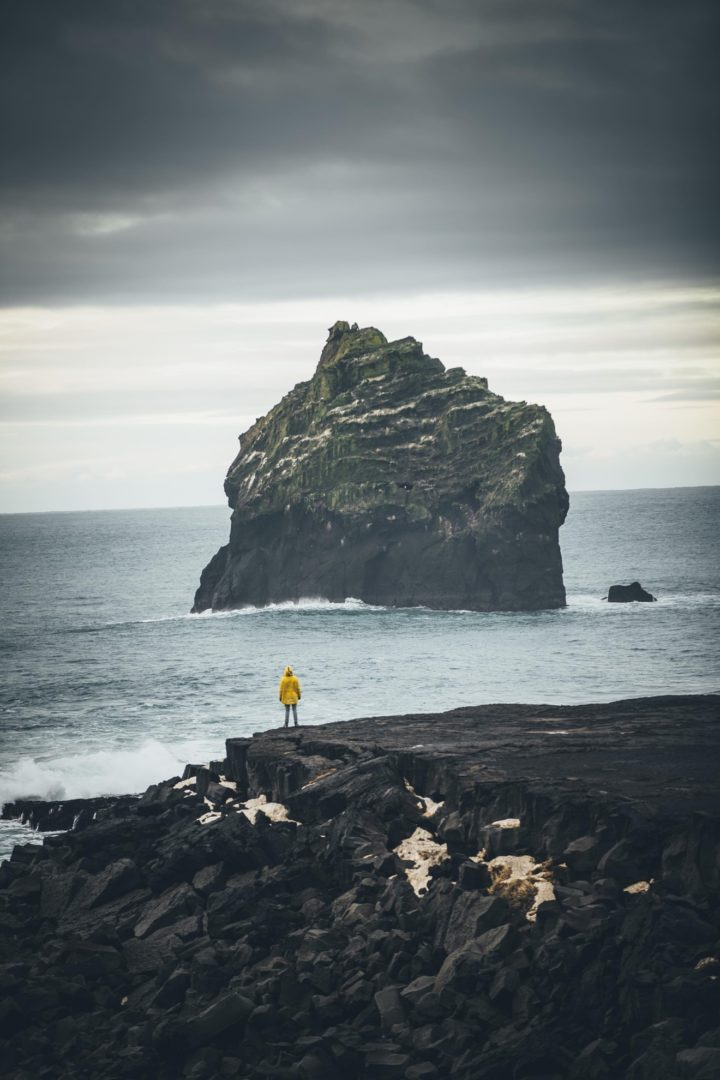 Black sand beaches - iceland pictures
