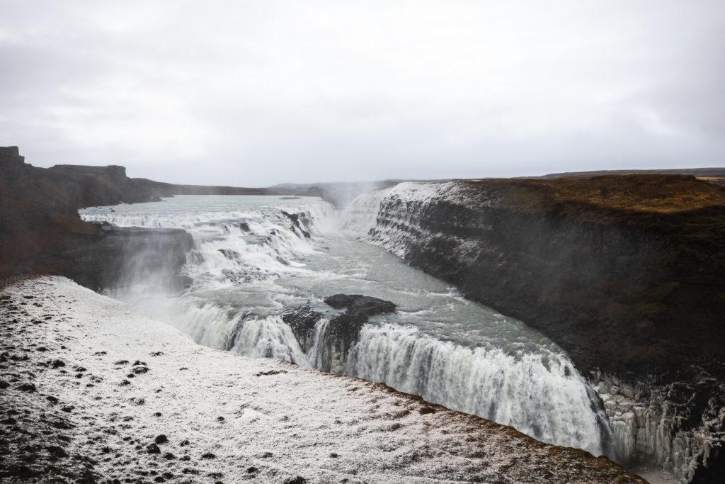 Golden Circle Iceland Winter Tour - Gullfoss Waterfall