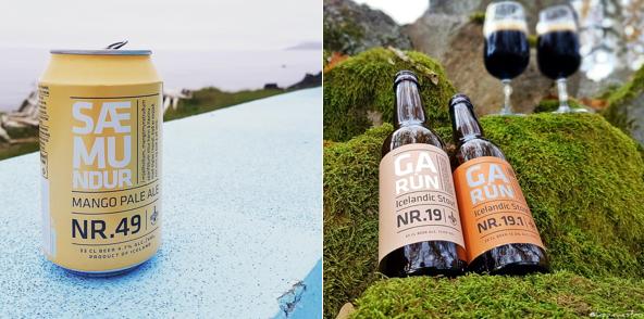 Iceland beer - borg brugghus