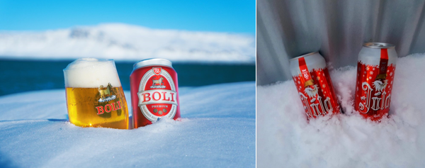 Iceland beer - Ölgerðin Egill skallagrímsson