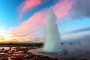 Golden Circle Winter - Geysir Iceland