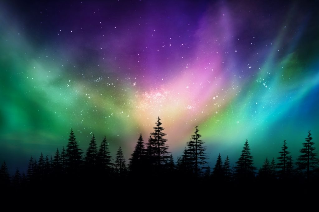 The best time of the day to see the northern lights