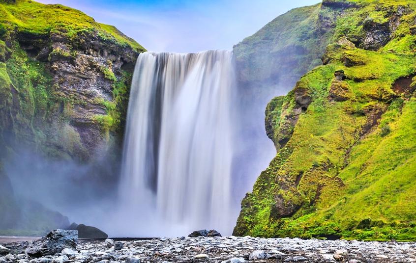 Skogafoss Waterfall - Iceland South Coast