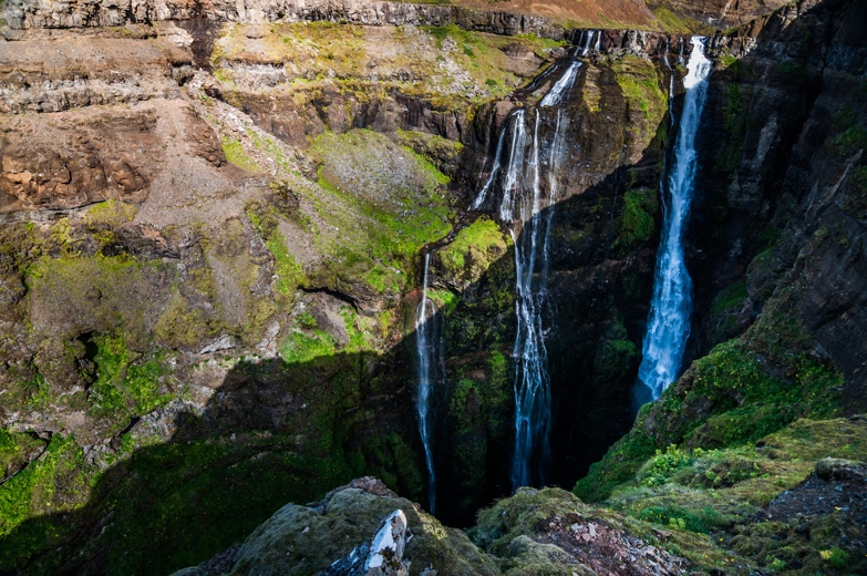 Iceland Waterfalls:Glymur Iceland - Glymur Waterfall Hike