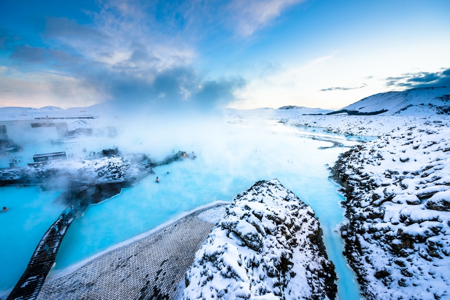 Taking a tour in Iceland - Blue Lagoon Iceland