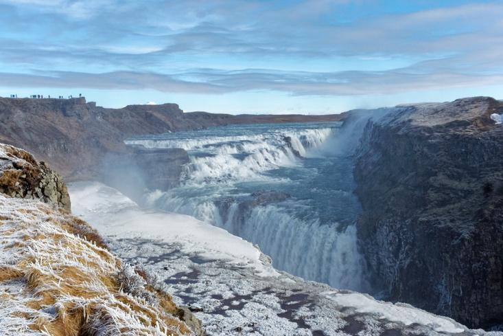Golden Circle Winter - Gullfoss Iceland Winter