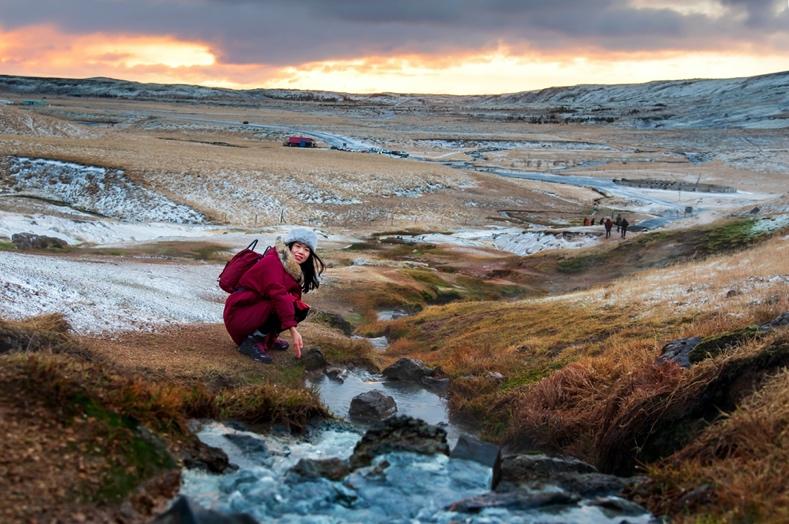 Reykjadalur Hot Spring - Iceland South Coast
