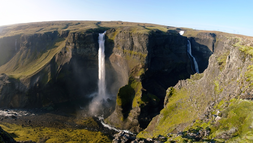 Haifoss Waterfall - Iceland Waterfalls