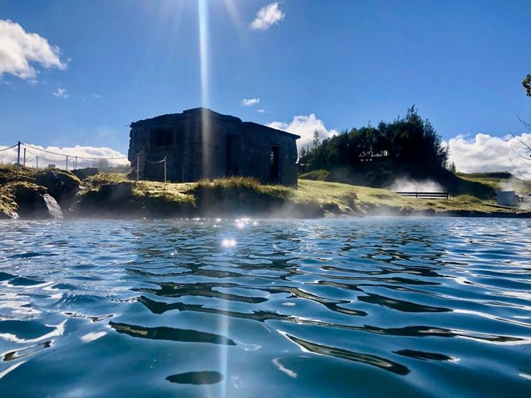 The Secret Lagoon Hot Spring - Iceland South Coast