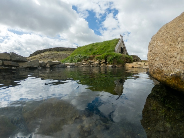 Hrunalaug Natural Hot Spring - Iceland South Coast