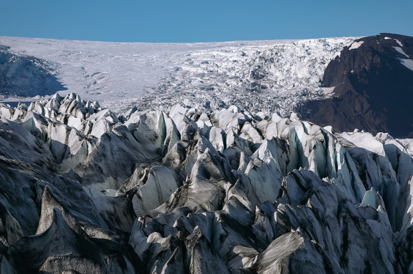 Skaftafellsjokull Glacier - Iceland South Coast