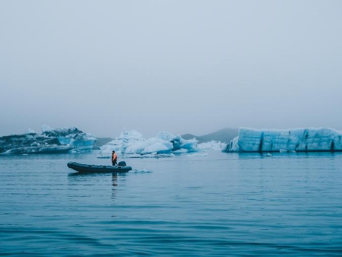 Jokulsarlon - Glacier Lagoon - Iceland South Coast