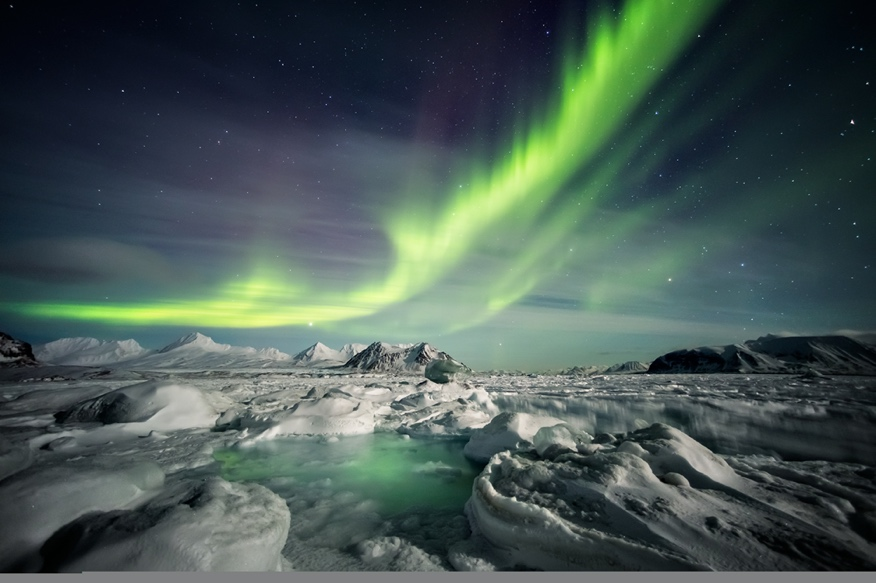 Iceland South Coast - See the northern lights