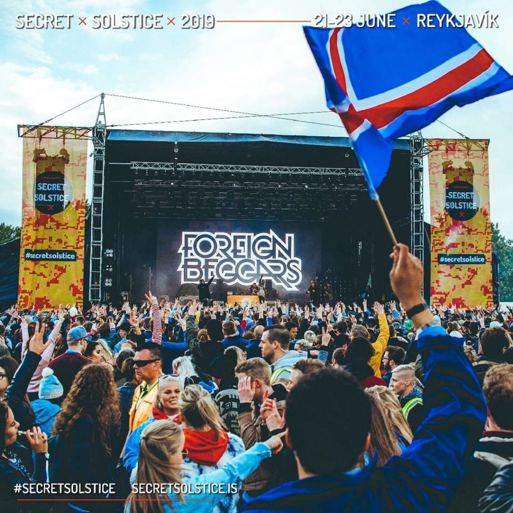 Secret Solstice Iceland takes place in June