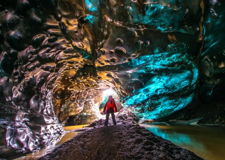 Private South Coast & Katla ice cave tour