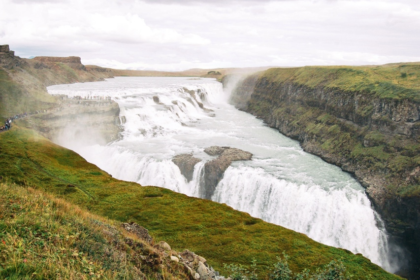 Gullfoss Waterfall - The Golden Waterfall Iceland
