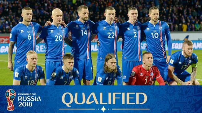 Football in Iceland - Russia 2018 Qualifications