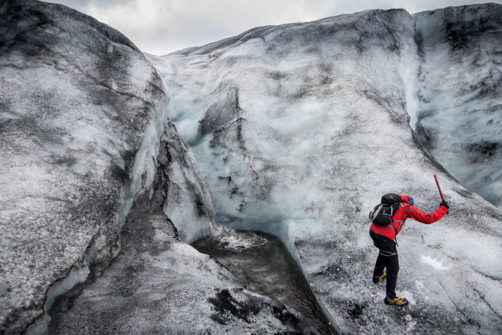 Sólheimajökull Glacier Hike Iceland - South Coast Tour