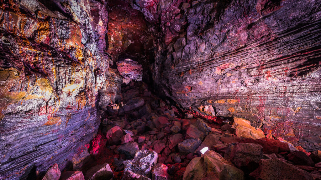 Lava Tunnel Iceland