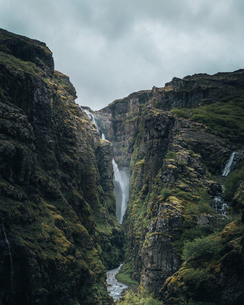 Glymur Waterfall - Glymur Waterfall Hike