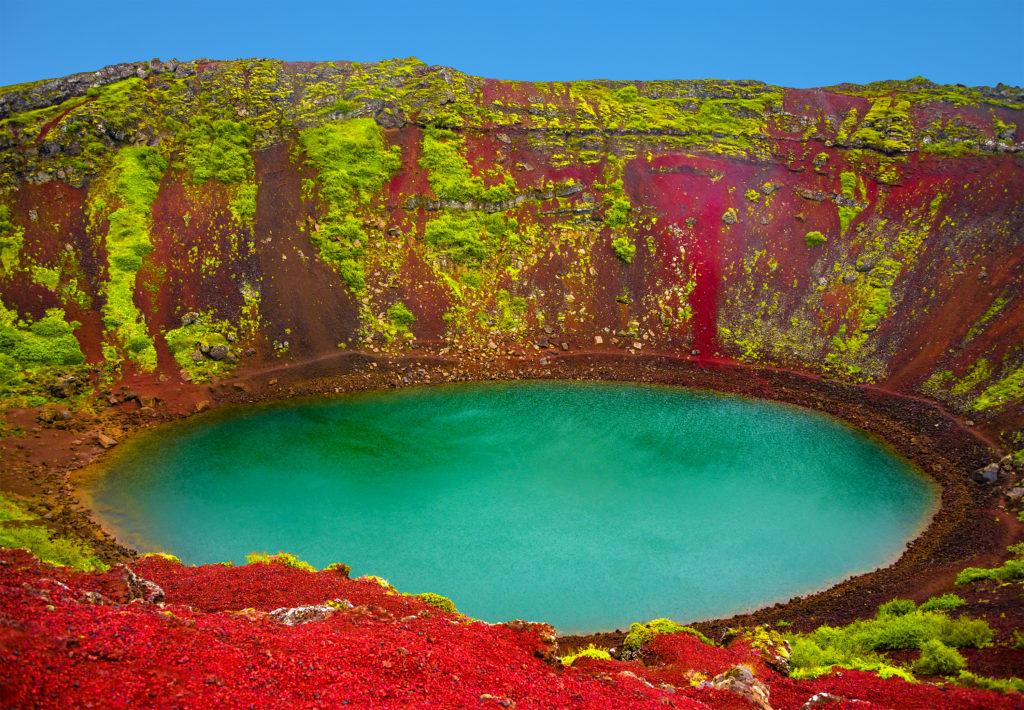 Kerið - Golden Circle Tour Iceland with the secret lagoon