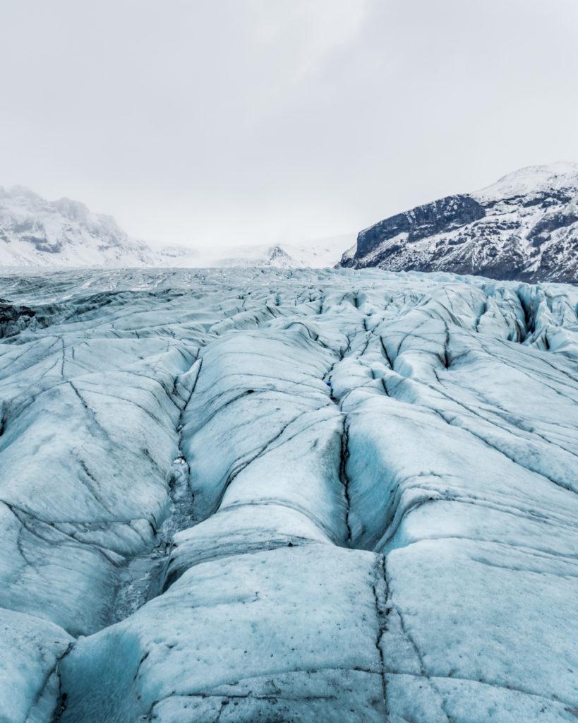 Sólheimajökull Glacier Iceland - Iceland South Coast Glacier Hike